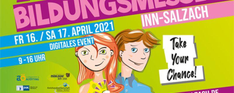 Bildungsmesse Inn-Salzach am 16/17.4.2021 Digitales Event